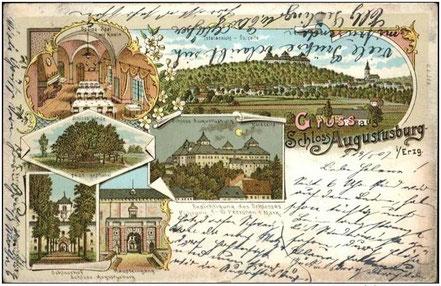 Das Jagdschloß um 1900