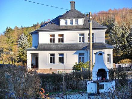 Das villenartige Wohnhaus 2013