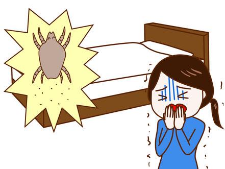 マットレス クリーニング 料金 神奈川 横浜 ダニ 消臭