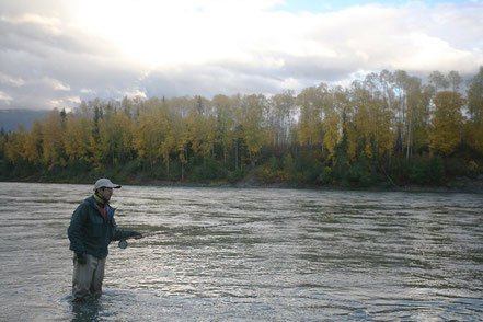 Skeena River Spey Fishing