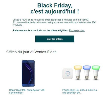 email black friday amazon
