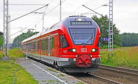 Nahverkehrszug Deutsche Bahn