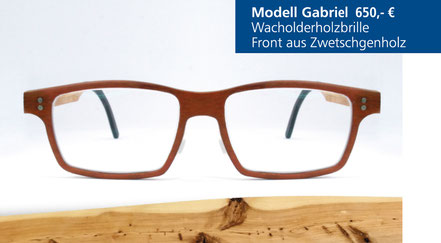 Wacholder-Brille Modell Gabriel
