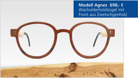 Wacholder-Brille Modell Agnes