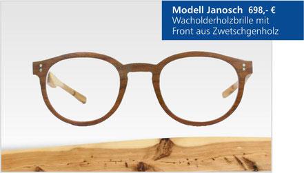 Wacholder-Brille Modell Janosch