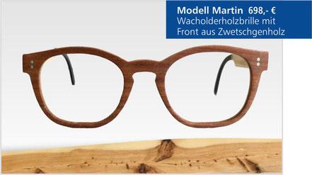 Wacholder-Brille Modell Martin