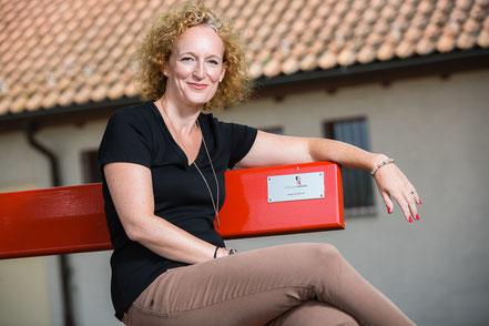 "Barbara Tudor alias ""Frau Bunts"". Bild: Michael Rieder Photography, Grüt ZH."