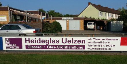 Heideglas Uelzen beim SV Germania Ripdorf