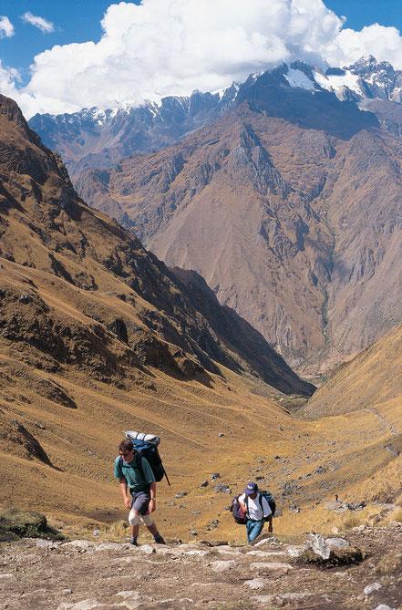Inka Trail nach Machu Picchu mit PERUline