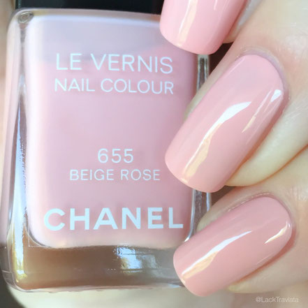 swatch CHANEL BEIGE ROSE 655 by LackTraviata