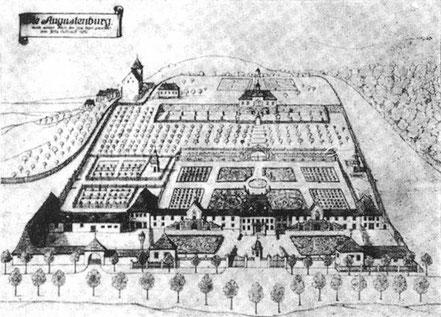 Die ehemalige Augustenburg in Oberndorf