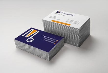 Visitenkarte für Unternehmensberater