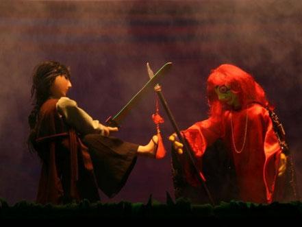 Las Tres plumas del dragón en el Segundo Festival de la Fantasía