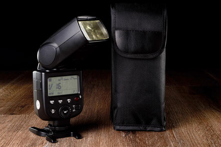 Godox TT 600S, Sony, flash, Blitz, Kompaktblitz, Review, Test, Meinung, back, Tasche