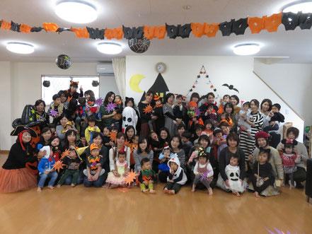 おやこえいご Halloween party