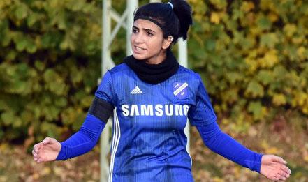 Handbreit verloren: Rojin Balica unterlag mit der Viktoria unglücklich. © Pressebilder Hahn