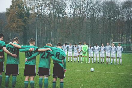 """Schweigeminute für Rüdiger """"Zecke"""" Fieberg vor dem Spiel gegen ASV"""