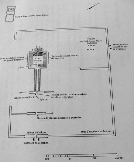 Colosses de Memnon - Amenhotep III - Thèbes-Ouest - Egypte