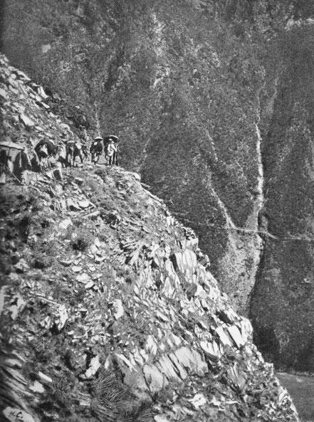 Route en pays tibétain. - Mission lyonnaise d'exploration commerciale en Chine, 1895-1897. Récits de voyages. —  A. Rey et Cie, imprimeurs-éditeurs, Lyon, 1898.