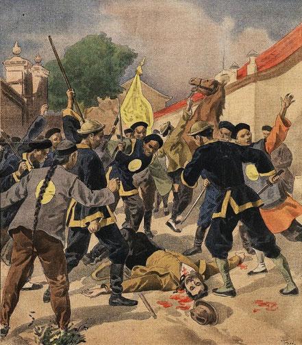 22 juillet 1900. Ketteler. Le Petit Journal, Supplément illustré, et la Chine  1890-1913, 1921-1931.