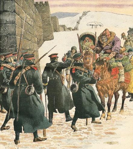 12 février 1911. Peste mandchoue. Le Petit Journal, Supplément illustré, et la Chine  1890-1913, 1921-1931.