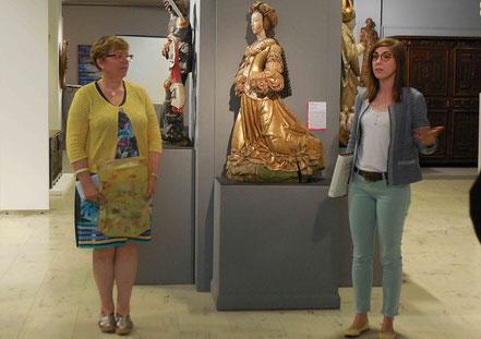 Agathe Jagerschmidt dit au revoir aux  Amis du Musée et les  remercie