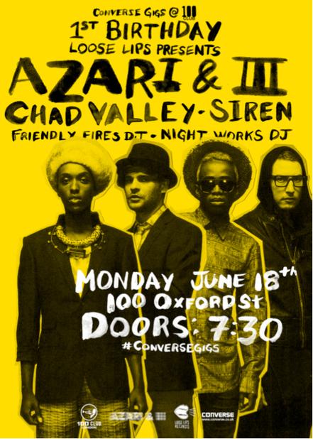 Converse Gigs | Azari & III