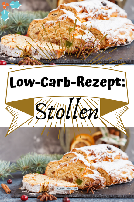 Low-Carb-Rezept: Stollen