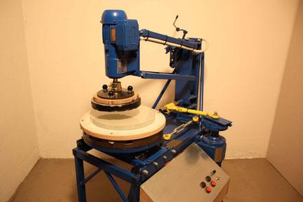 Eigenbau Spiegelschleifmaschine
