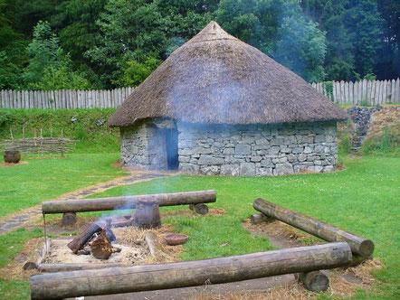 Steinzeithütte, Paleo, Wohnplatz in der Steinzeit