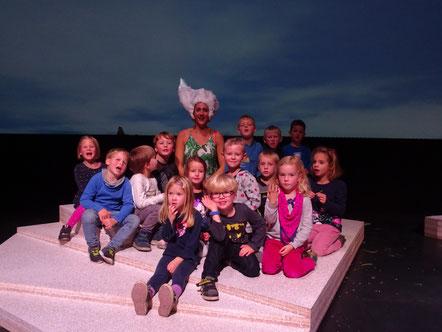 Auch die Kinder der katholischen Kindertageseinrichtung Maria Königin besuchten das Kinderjugendtheater und hatten viel Spass.