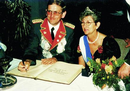 Bernhard II. Döbber und Marianne II. Hüsgen: 1997 - 1999