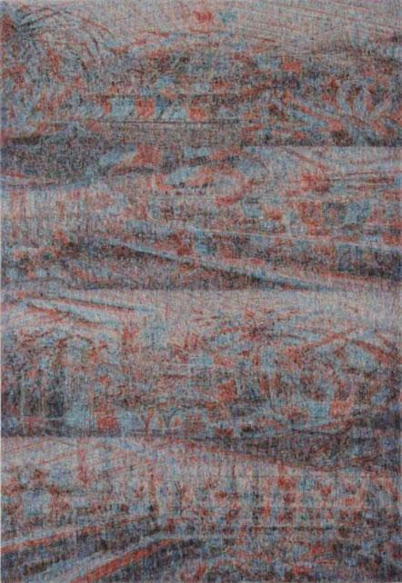 Sub Image(window plant) 162x130.3cm, oil on canvas, 2011