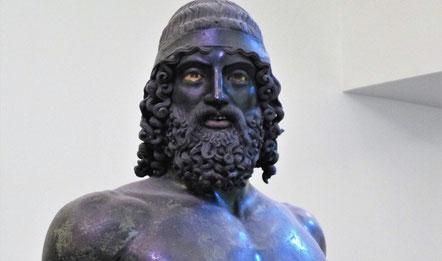 Kalabrien Ausflug Bronzekrieger Reggio Calabria