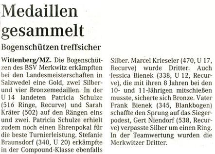 Artikel - LM in Salzwedel - BSV Merkwitz
