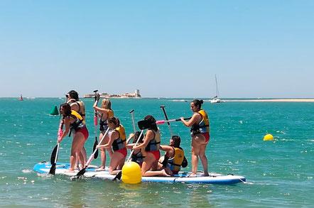 paddle surf gigante cadiz