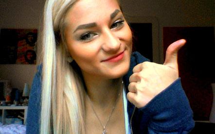 Vor meinem ersten Skype-Date :)