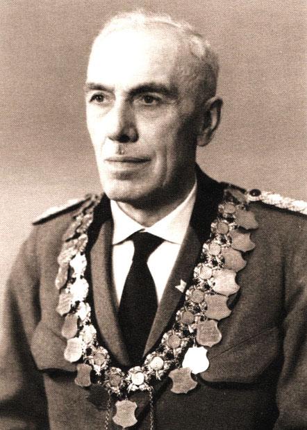 Wilhelm Warnke, von 1951-1971 1. Vorsitzender des Schützenvereins Erichshof von 1913 e.V.