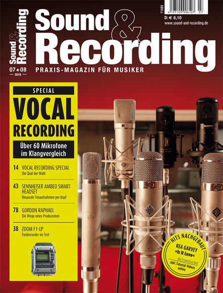 Sound & Recording (Juli/August Ausgabe)
