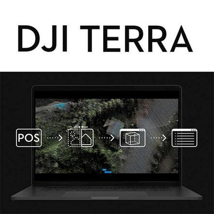 DJI Terra Software de procesamiento con Zenmuse L1