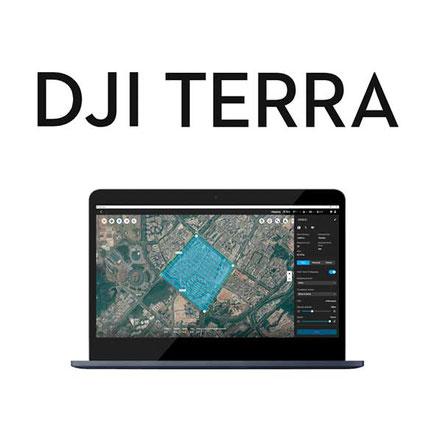 DJI Terra software de procesamiento de imágenes obtenidas con drone