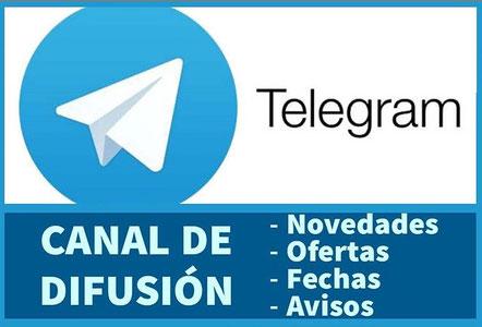 Canal de difusión Telegram Sugraher 3D