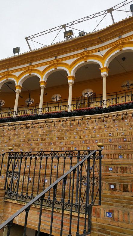 Stierkampfarena, La Maestranza, Sevilla, Seville