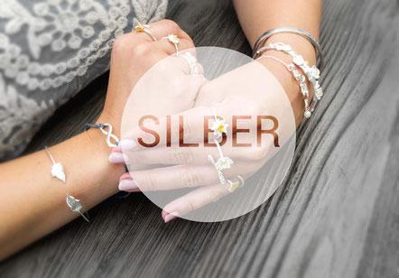silber silver schmuck fashion fabulous funky handmade jewelry ketten