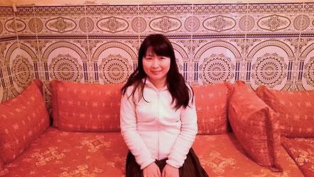 モロッコ旅行中に、モロッコ現地の家庭に泊まらせてもらいました。モロッコ在住の日本人Mika
