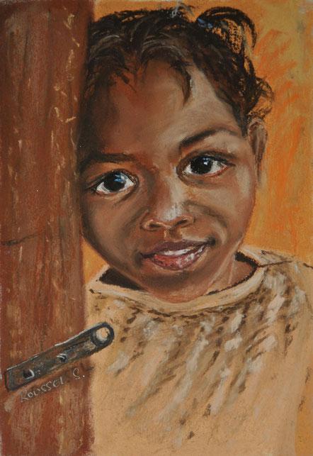 dessin-pastel-fillette-madagascar-art-enfant