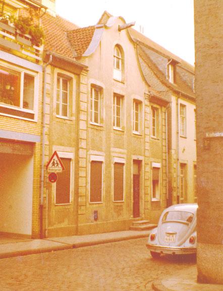 Hollenbeckerstraße 70er Jahre