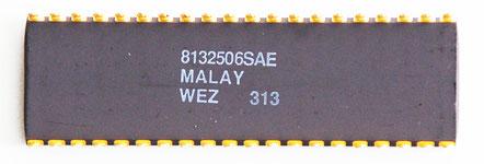 Intel C80287XL Back View