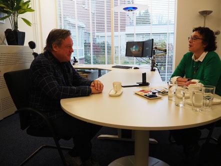 Interview met Lorenz Wiggers over spraakherkenning van Cedere