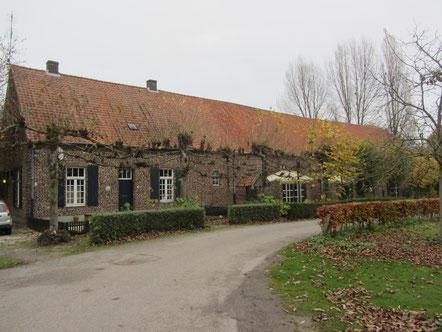 Tiendschuur kasteel Huys ter Horst Kasteellaan 1 Horst rijksmonument